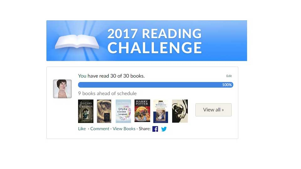 Goodreads-reading-challeneg