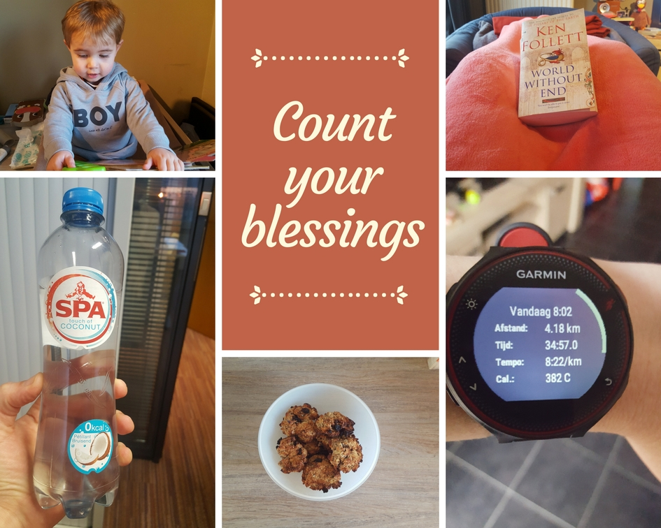 Count your blessings – Februari