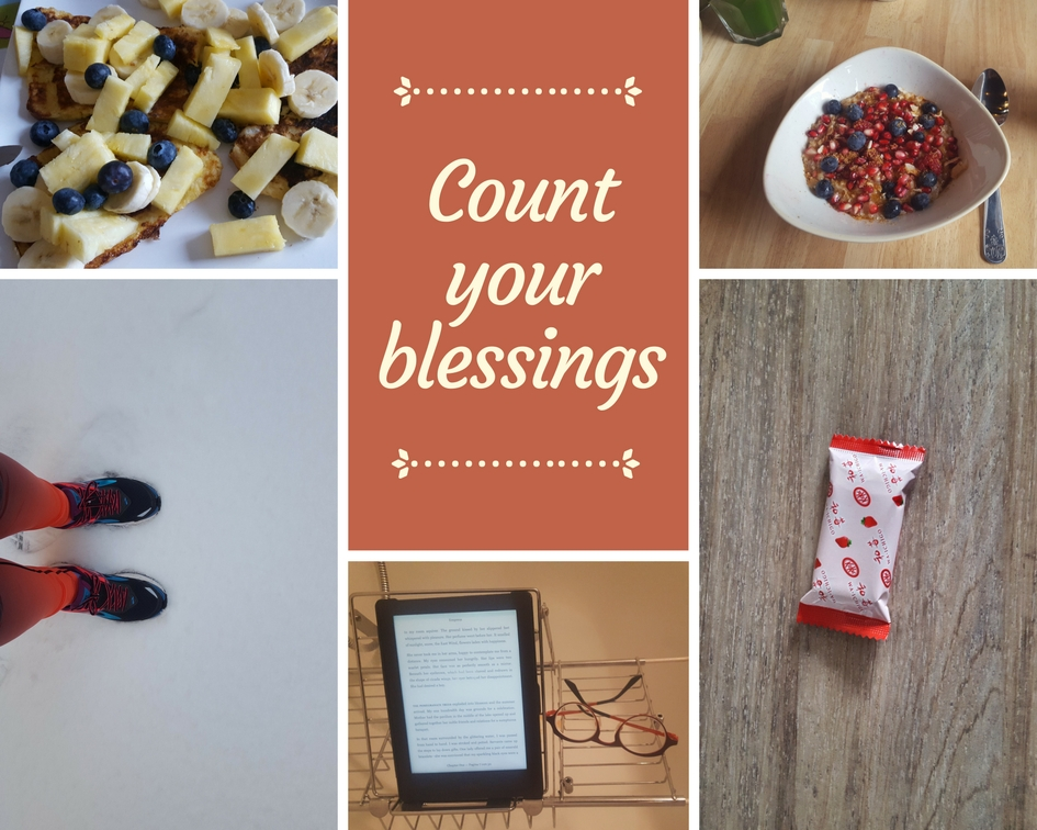 Count your blessings – Maart