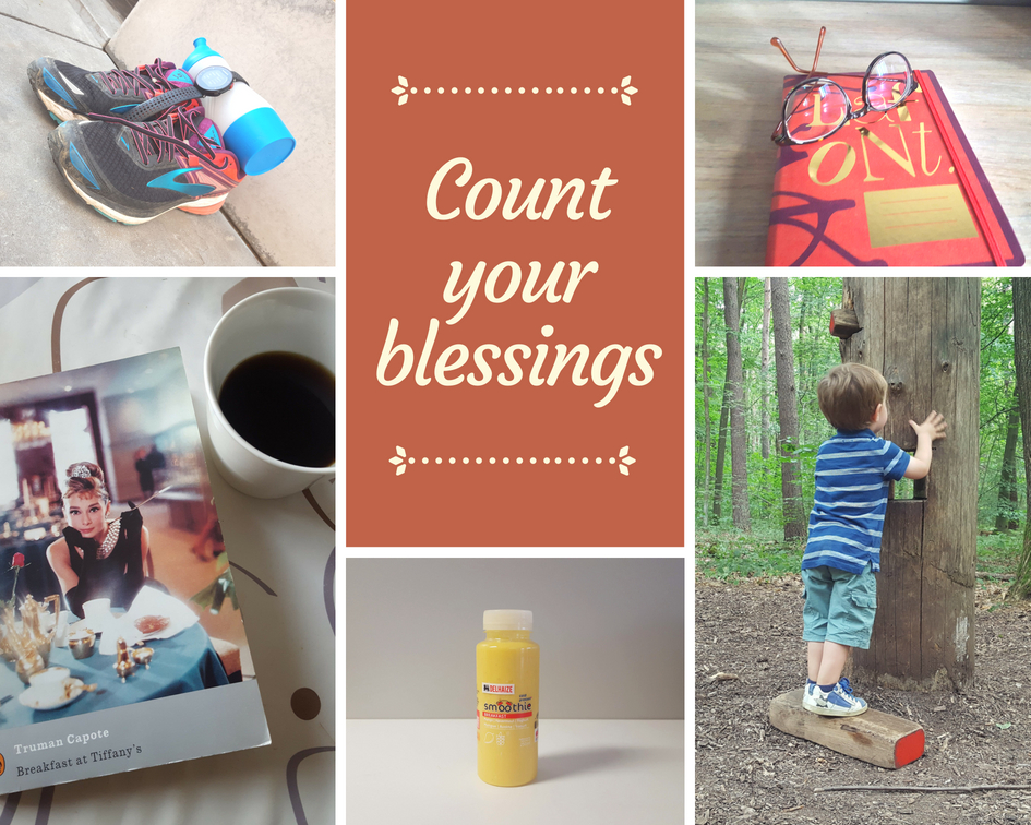 Count your blessings – Juli 2018