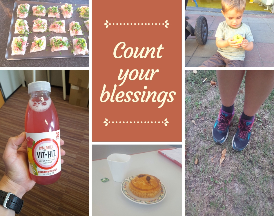 Count your blessings – September 2018