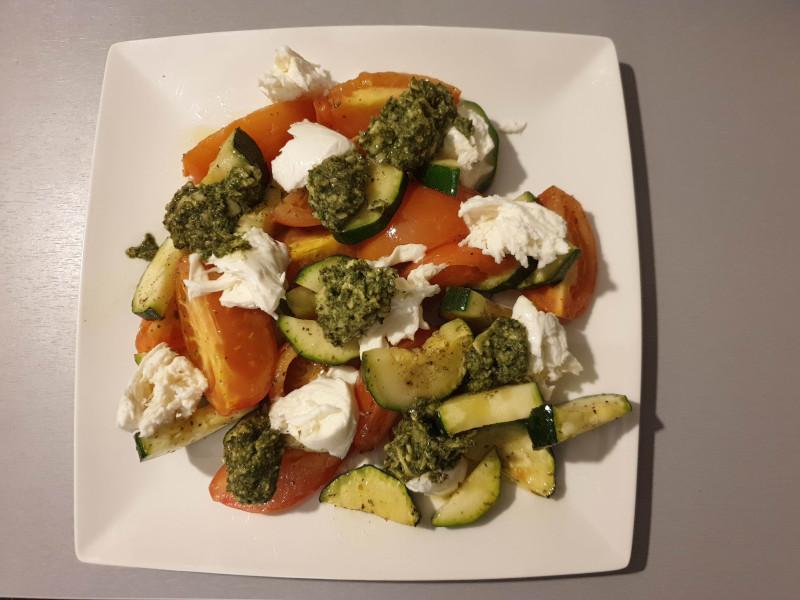 Nog eenvoudiger: ovengroenten met kaas