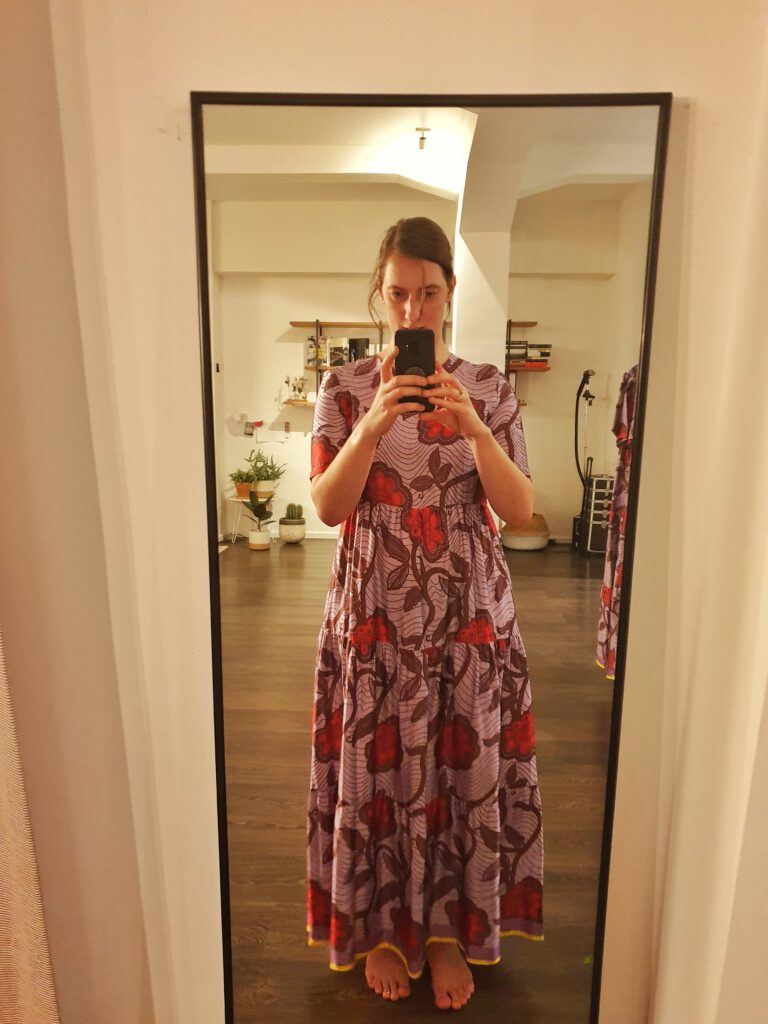 stylingsessie maxi dress